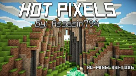Скачать Hot Pixels Returns [16x] для Minecraft 1.9
