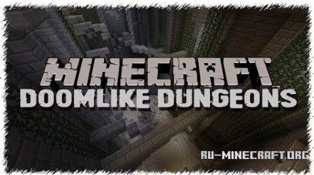 Скачать Doomlike Dungeons для Minecraft 1.10