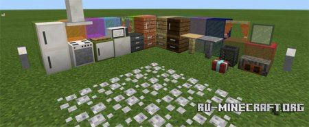 Скачать PocketDecoration для Minecraft PE 0.15.1