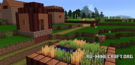 Скачать Flourish [16×16] для Minecraft PE 0.15