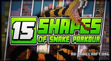 ������� 15 Shapes Of Snakes 2 ��� Minecraft