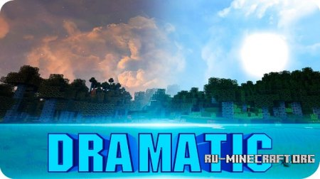 ������� Dramatic Skys [Real HD] ��� Minecraft 1.10