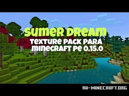 Скачать Summer Dream [16×16] для Minecraft PE 0.15