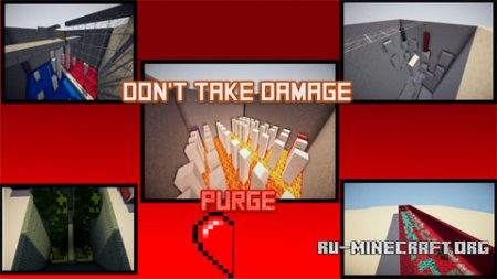Скачать Don't Take Damage Purge для Minecraft