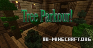 ������� Tree Parkour ��� Minecraft