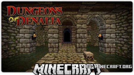 Скачать Dungeons of Denalia для Minecraft