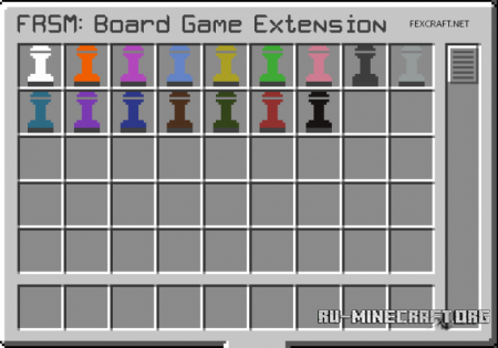 ������� Board Game Extension Minecraft 1.10.2