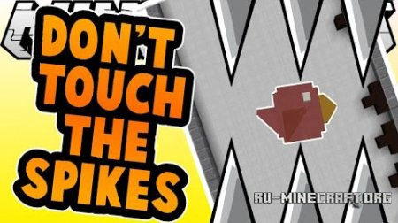 ������� Don�t Touch the Spikes ��� Minecraft