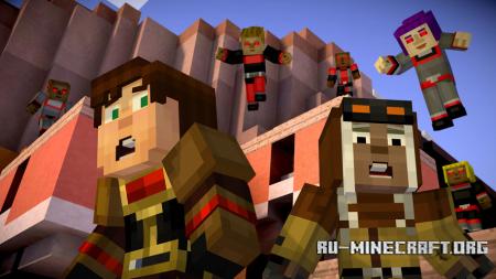 Скачать Minecraft: Story Mode - Episode 7 Торрент [Windows/Mac OS X/Android]