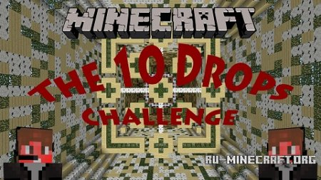 Скачать 10 Drops Challenge Map: Wood для Minecraft