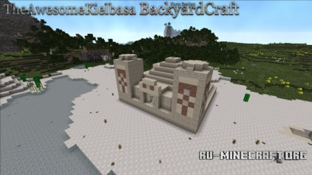 Скачать BackyardCraft [512x] для Minecraft 1.10