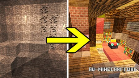 ������� Transforming Redstone Cave ��� Minecraft