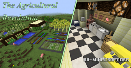������� The Agricultural Revolution ��� Minecraft 1.9.4