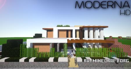 Скачать Moderna HD [32x] для Minecraft 1.9