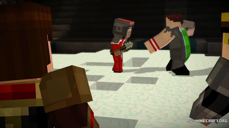 Скачать Minecraft Story Mode 3 эпизод для Андроид и PC