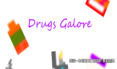 ������� Drugs Galore ��� Minecraft 1.10.2