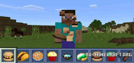 ������� More Food ��� Minecraft PE 0.15