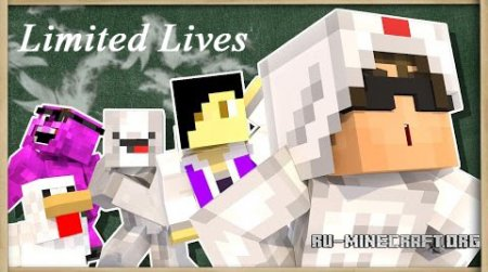 ������� Limited Lives ��� Minecraft 1.10.2