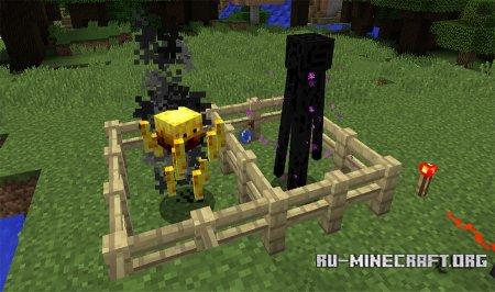Ифрит и Эндерман Minecraft 1.11
