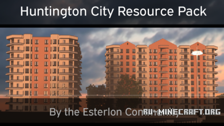 Скачать Huntington City [64x] для Minecraft 1.10