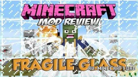 Скачать Fragile Glass and Thin Ice для Minecraft 1.10.2