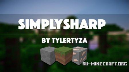 Скачать SimplySharp [256x] для Minecraft 1.10