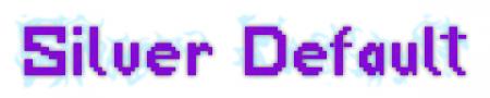 Скачать Silver Default [32x] для Minecraft 1.10