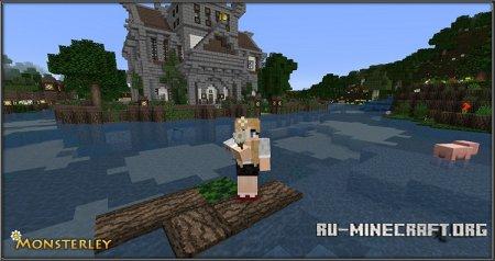 Скачать Monsterley [32x] для Minecraft 1.9