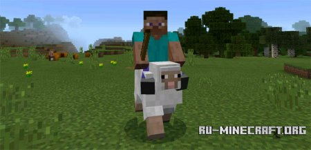 ������� Driveable Mobs ��� Minecraft PE 0.15