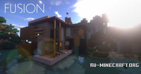 Скачать Fusion [16x] для Minecraft 1.10