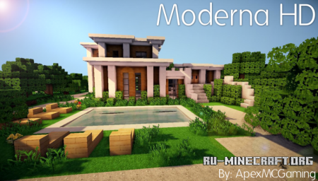 Скачать Moderna HD [32x] для Minecraft 1.10