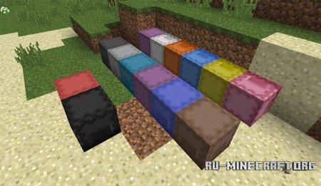 Разные цвета ящика Шалкера Minecraft 1.11