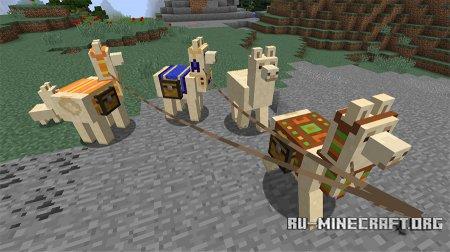 Прирученные ламы в Minecraft 1.11