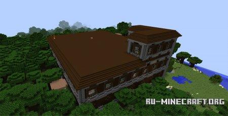 Лесной Особняк скриншот 1 Minecraft 1.11