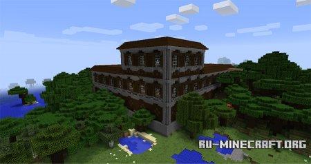 Лесной Особняк скриншот 2 Minecraft 1.11