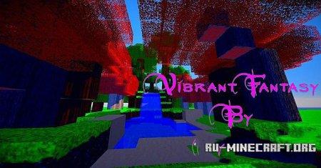 Скачать VibrantFantasy [64x] для Minecraft 1.9