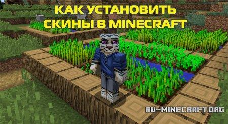 Как установить скины в Minecraft