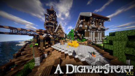 Скачать Digital Story [32x] для Minecraft 1.10