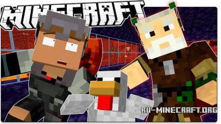 Скачать The Redstone Bug Adventure для Minecraft