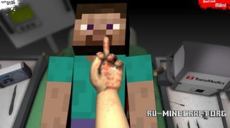 ������� Surgeon Simulator ��� Minecraft