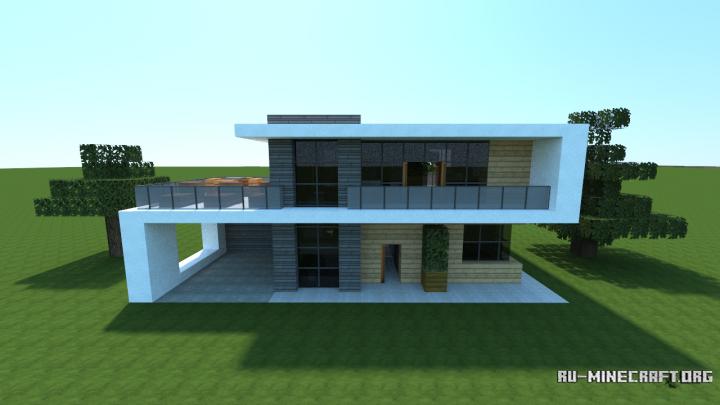 Модерн Дома в Minecraft