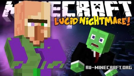 Скачать Lucid Nightmare Horror Minecraft