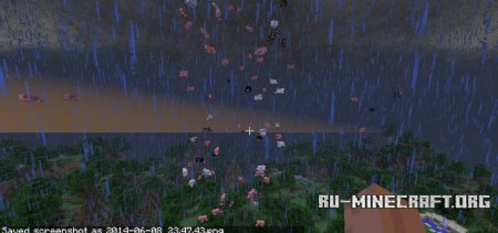 Скачать Localized Weather & Stormfronts для Minecraft 1.10.2