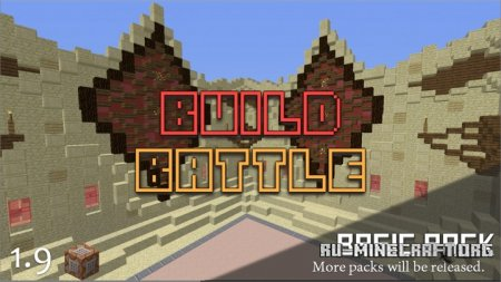 Скачать Build Battle Minigame для Minecraft