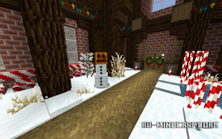 Скачать Futureazoos Default Based Christmas [16x] для Minecraft 1.11