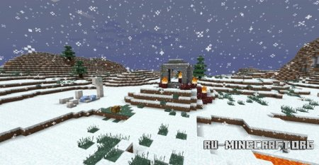 Скачать Custom Survival: Forever Frozen для Minecraft