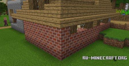 Скачать Less Annoying [16x16] для Minecraft PE 0.17.0