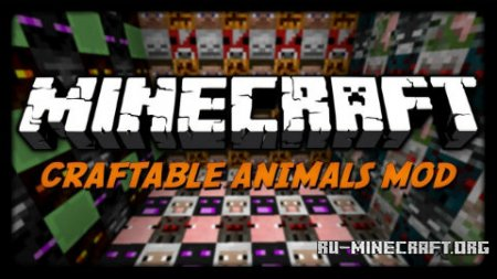 Скачать Craftable Animals для Minecraft 1.10.2