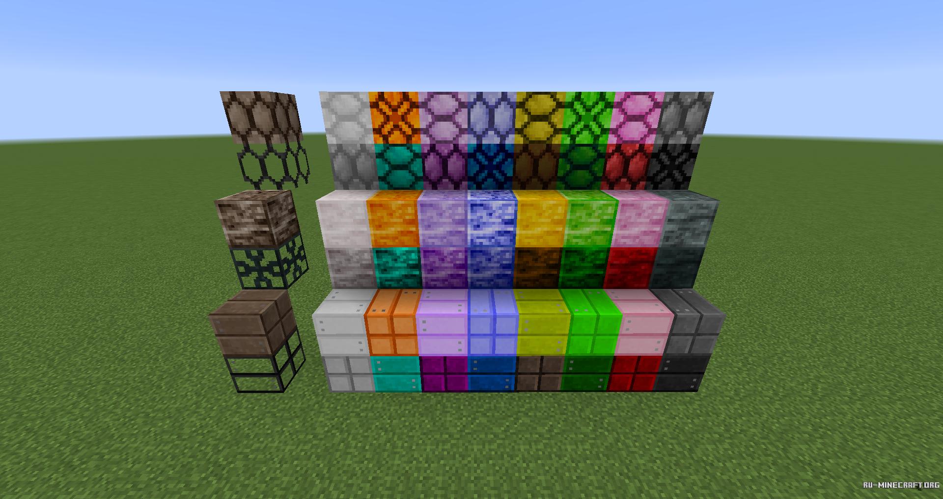 моды на майнкрафт 1.7.10 для покраски блокав #6