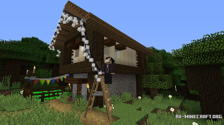 Скачать Fairy Lights для Minecraft 1 11